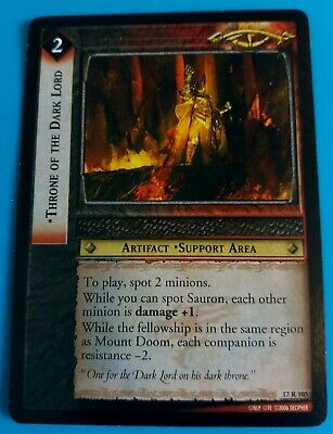 Lord of the Rings TCG Choose a Siege of Gondor Rare Card from List Part 2//2 LOTR