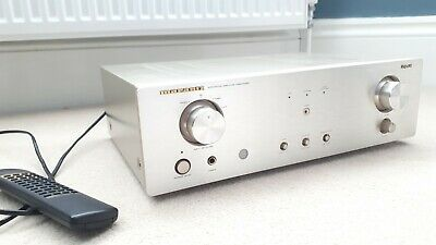 Marantz PM6010OSE HI FI Stereo Integrated Amplifier c/w remote audiophile silver