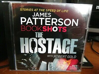 The Hostage by James Patterson (CD Audiobook)