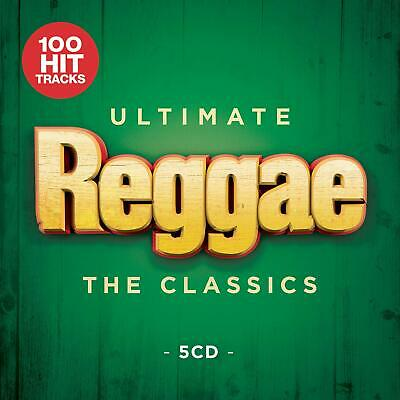 Ultimate Reggae: The Classics (2019) 5-CD Set - NEW & SEALED - FREE UK DELIVERY