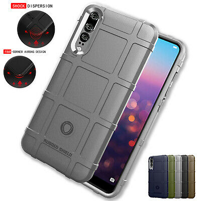 For Huawei P30 Pro Case P20 Lite Mate 20 Y9 Hybrid Rubber Shockproof Slim Cover