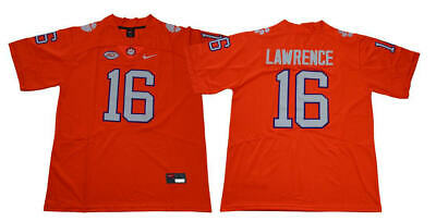 Trevor Lawrence Clemson Tigers Stitched Football Jersey