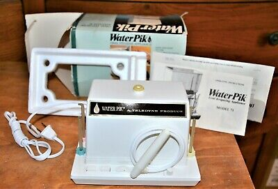Vintage NOS Water Pik Model 71 Oral Hygiene Appliance Teeth Flosser Teledyne g1