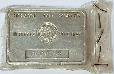 10 Troy Oz Vintage Royal Canadian Mint .999 Fine Silver Bar Numbered