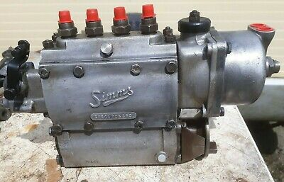 Fordson Major Simms Reconditioned Injector Pump Spe4A70S380