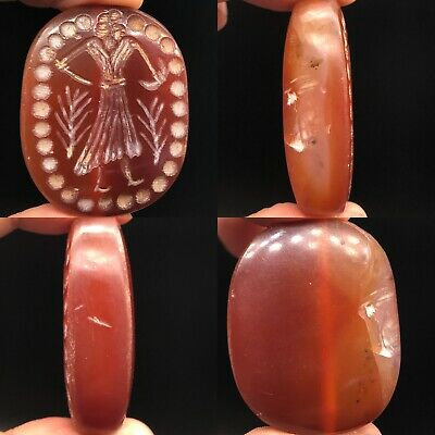 Ancient Agate stone Beautiful Intaglio Stone Lovely bead
