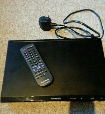 Panasonic DVD/CD player S500 with remote - Used - Please see Information/photos