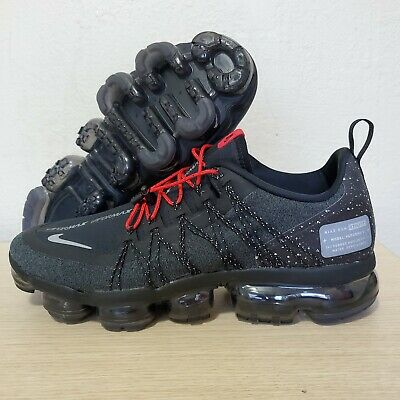 Nike Air Vapormax Run Utility Black Reflect Silver Mens Size 10.5 ( AQ8810-001 )