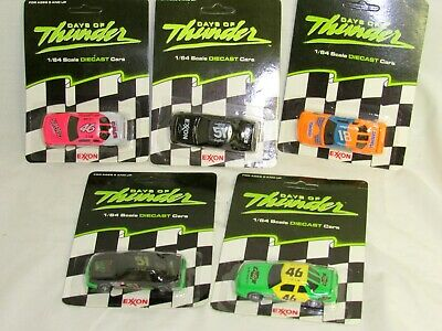 Matchbox Days Of Thunder Nascar Cars-New Old Stock--Exxon- 5 Cars For One Price