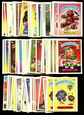1986 Garbage Pail Kids Series 4 Complete Set Mint Condition
