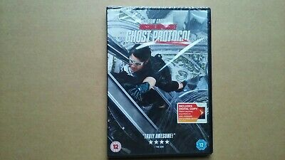 Mission Impossible - Ghost Protocol - 2011 Action Sequel Film (DVD) NEW & SEALED