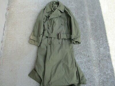 Original US Army WWII Officer's Field Overcoat Size 34R