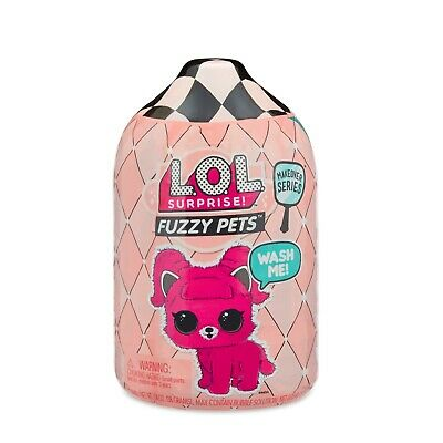 New Lol Surprise! Fuzzy Pets Makeover Series 7 Surprises Inside Toy Washable Fuz