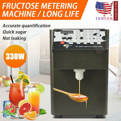 330W 110V Fructose Quantitative Machine Fructose Dispenser Bubble Tea Equipment