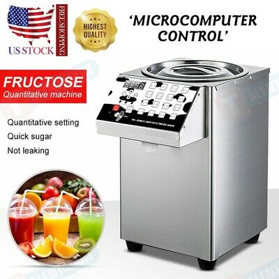 New 110V Fructose Quantitative Machine Bubble Tea Equipment  Fructose Dispenser
