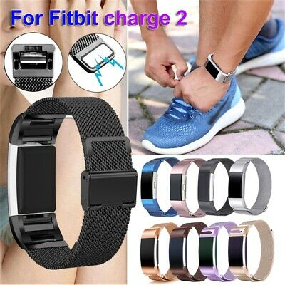 Bracelet Strap Wristbands Milanese Watch Band Magnetic For Fitbit Charge 2