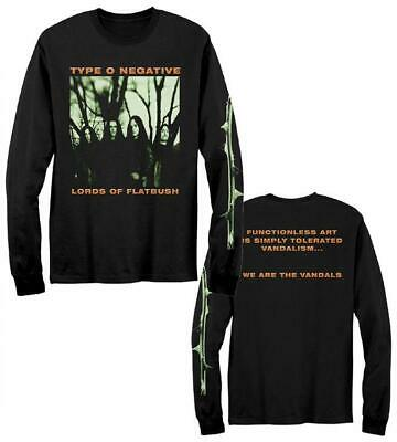 TYPE O NEGATIVE Vandals Long Sleeve T SHIRT M-2XL New Official Kings Road Merch