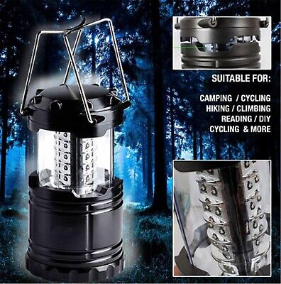 Power Outage 30 LED Battery Emergency Compact Camping Lantern Disaster Light