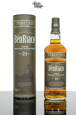 BenRiach Aged 21 Years  Peated Temporis  Speyside Single Malt Scotch Whisky (...