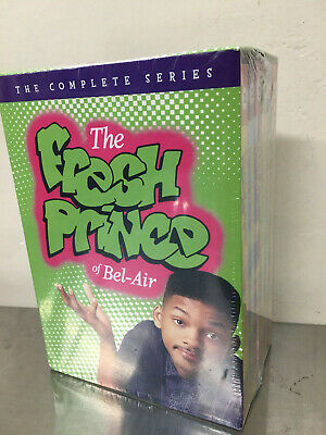 The Fresh Prince of Bel-Air Complete Series-Seasons 1 2 3 4 5 6 (22-DVD) Box Set