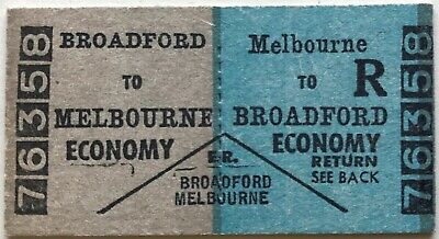 VR Ticket - BROADFORD to MELBOURNE - Economy Return