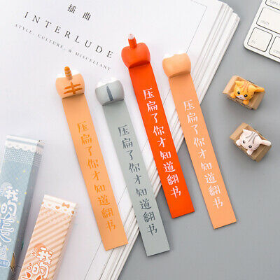 Dog Cat Hamster Fox Ass Bookmarks Book Reading Gift for Kids Children Stationery