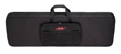 SKB Electric Bass Soft Case with EPS Foam Interior/Nylon Exterior, Back Straps