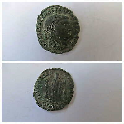 Licinius I Constantine The Great enemy 313AD Ancient Roman Coin LS104