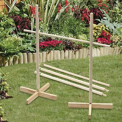 New Wooden Limbo Game Classic Garden Family Bbq Party Fun Summer Beach Camping