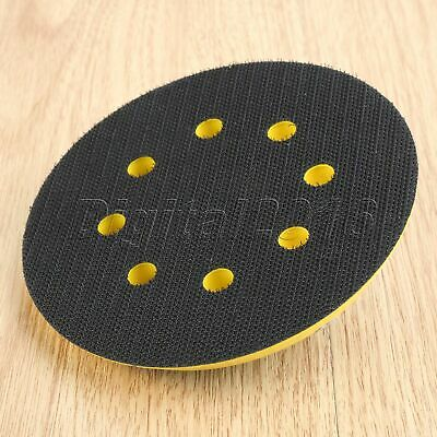 Sponge Metal Grinder Polishing Sanding Disc Abrasive Sander Backing Pad 8 Hole