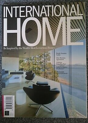 INTERNATIONAL HOME world's most luxurious homes futura magazine first edition
