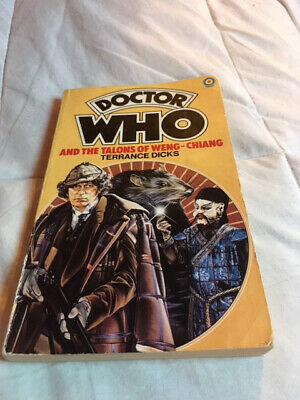 Doctor Who and the Talons of Weng-Chiang by Dicks, Terrance Paperback Book