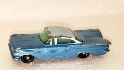 1959 CHEVROLET IMPALA COUPE ~ Matchbox Lesney 57 B6 ~ Made in England in 1961