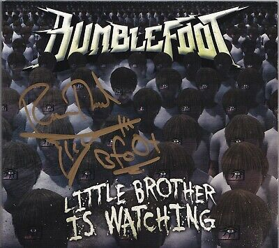 Bumblefoot Little Brother Is Watching Signed Cd Ron Thal Sons Of Apollo Autograp