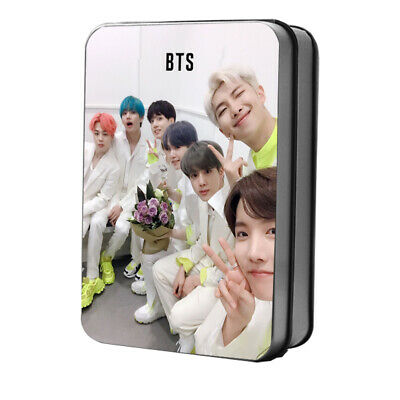 BTS FAKE LOVE/Airplane Behind the scene LOMO CARD 40pcs Polaroid Photocard +box