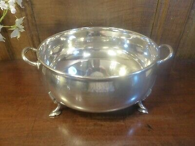 EXCELLENT MAPPIN & WEBB PRINCE'S silver plate SERVING DISH/BOWL - ARTS & CRAFTS