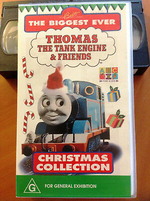 Thomas the Tank Engine - CHRISTMAS COLLECTION - VHS