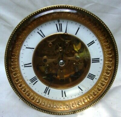 A Large Marti, Skeletonised Dial, Mercurial Pendulum, French Clock Movement.