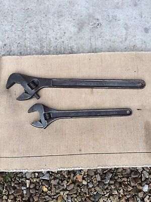 """Bahco adjustable spanner 24"""" Bahco 18"""" Adjustable Made In Sweden Bahco 24"""