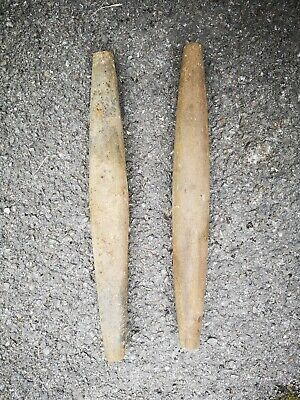 Vintage Oils Sharpening Stones X2