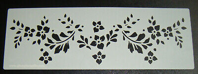 Art Deco 20/'s 5 Inch Cake Decorating Stencil  Airbrush Polyester Film