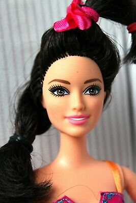 Barbie Doll Asian Raquelle Redressed Lovely