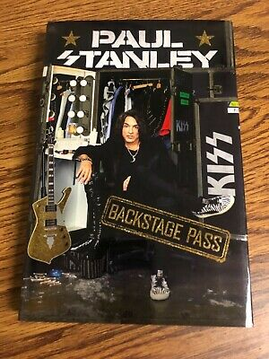Autographed Paul Stanley Back Stage Pass JSA certified signed