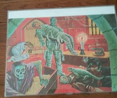 1963 Jaymar MUMMY Universal Monster 10 X 14 size nm complete puzzle in box READ