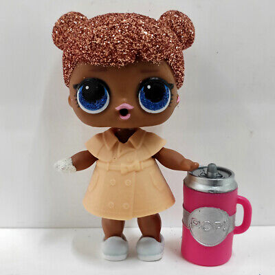 lol doll Big Sister Glitter champagne Hair Khaki Dress Kids Birthday Gift Cute