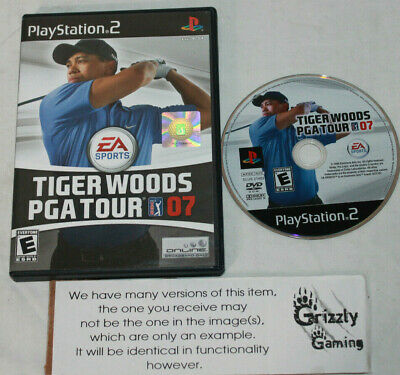 USED Tiger Woods PGA Tour 07 Sony PS2 (NTSC) -Canadian Seller-