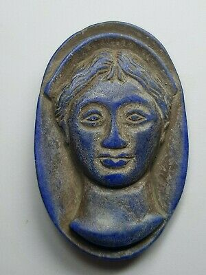 Roman queen lapiz comeo wonderful rare lapiz stone comeo