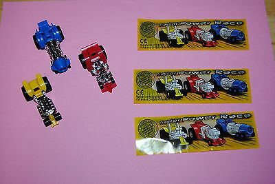 AA: Kinder serie complete ALL traktor power race 705226 705219 705222