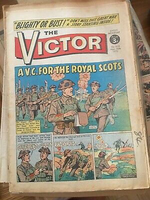 THE VICTOR COMIC 1972 No 613 18th Nov ~ A VC for the Royal Scots