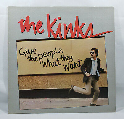 The Kinks: Give the People What They Want [Vinyl Record LP]